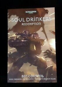 Warhammer 40,000 40k Soul Drinkers Redemption Novel Book BRAND NEW!