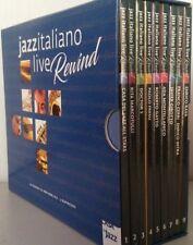Jazz italiano live Rewind. Cofanetto di 9 cd. La musica di Repubblica-L´Espresso