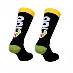 Cinelli 'Ciao' Cycling Socks in Black - Made Italy
