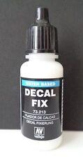 (14,65€/100ml) Vallejo 73213, Decal Fix / Decal Fixierung, 17 ml, Neu
