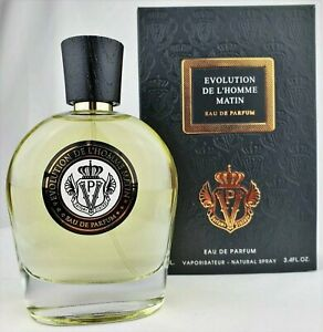 Parfums Vintage Evolution de L'Homme Matin 100ml EDP New in Box, Fast Shipping!!