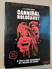 CANNIBAL HOLOCAUST French 2 Disc Collector's Edition Rare DVD