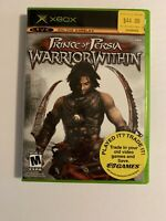 Prince of Persia: Warrior Within (Microsoft Xbox 2004) Complete with Manual
