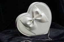 Lovely Big Bow Love Heart Lolita Women Shining Handbag Purse Shoulder Bag Party
