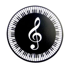 Mouse Mat - Treble Clef & Keyboard - Music Gift - Musical Mouse Mat