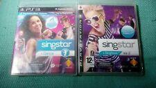 Singstar Dance & Singstar Vol 2 PlayStation 3 PS3 Games Bundle