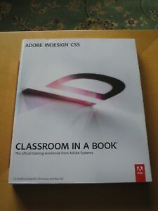 ADOBE INDESIGN CS5 CLASSROOM IN A BOOK INCLUDES CD ROM MAC OS & WINDOWS UK POST