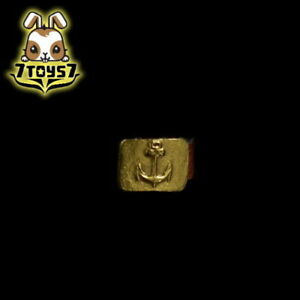 ACI Toys 1/6 Moda Waist Belt_ Buckle Anchor Gold _Now AT059C