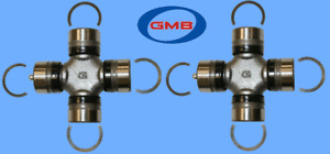 2  Driveshaft Wheel Shaft Universal Joint Front Center Rear Greasable