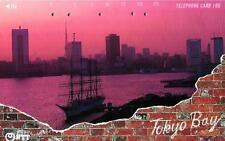 *37 SCHEDA TELEFONICA PHONECARD USATA GIAPPONE JAPAN TOKYO BAY