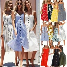 Summer/Beach Dresses Tunic/Smock Dress with Smocked