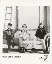 BEE GEES-ORIGINAL PHOTO-POLYDOR-ON COUCH