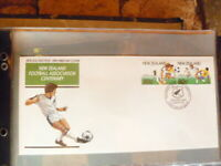 NEW ZEALAND 1991  FOOTBAL ASSOC CENTENARY  FIRST DAY COVER