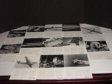 WORLD WAR II  BOEING  32 NATIONAL GEOGRAPHIC ADS VINTAGE ORIGINAL  WHITE
