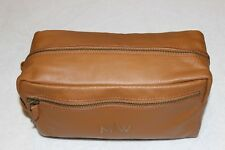"""Mark and Graham Light Brown Everyday Leather Travel Bag NWOT Free Shipping """"M/W"""