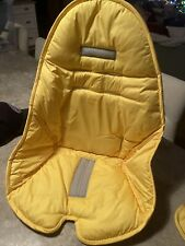 Bloom Fresco Cover for highchair with  pads  for the belt Yellow