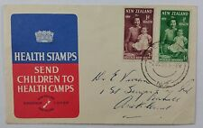 New Zealand 1950 Health Issue on Official illustrated FDC with Queenstown CDS