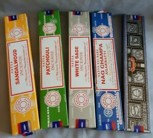 Nag Champa Incense.  Home fragrance; Sandalwood; patchouli; sage; dragons blood