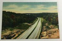 """VINTAGE 1930s Mini Photographs Souvenir Pictures 3X2""""Hwy 66 Hooker Cut  Missouri"""