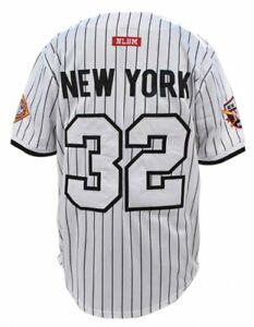 NEW YORK BLACK YANKEES NEGRO LEAGUE BASEBALL JERSEY WHITE EDITION Jersey