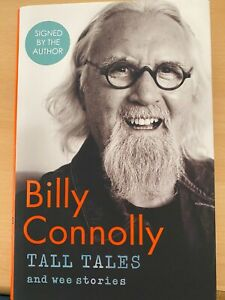 Billy Connolly signed Book 'Tall Tales' 1st Edition - UACC DEALER