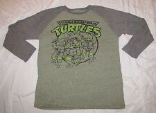 XL 46/48 MENS T-SHIRT LONG SLEEVE TEENAGE MUTANT NINJA TURTLES LEONARDO RAFAEL