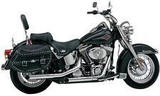 Harley Softail Cycle Shack Slash-Cut Slip-Ons Exhaust Mufflers 00-06 FXST FLST
