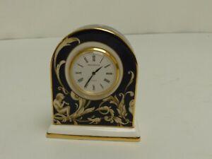 (ref288CX) Wedgwood 1995 Cornucopia Clock
