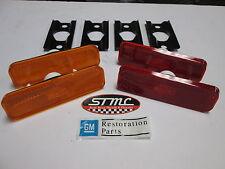 70 71 72 73 Camaro side marker lens kit GM licensed restoration part