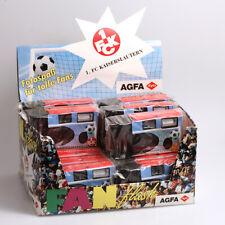 Agfa FAN flash 1FCK Kaiserslautern 15 Einwegkameras mit Blitz -Text bitte lesen-