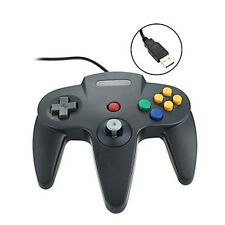 FOR Nintendo 64 N64 Classic Wired USB Controller Kits Retro for PC& Mac 3 Colors