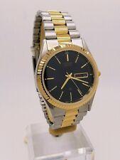 CITIZEN Quartz Watch Day Date New Old Stock AD6064-61ED President Bracelet