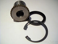New Esco 32-Teeth Coupling Gear with Seal & Retaining Ring, 20mm Bore, 40mm OD