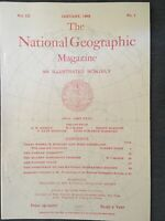 (REPRINT Edition!) National Geographic Magazine (december 1898) Samoan Cocoanut
