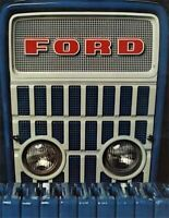 Vintage Ford 1000 Series Iconic Grill Tractor Poster Brochure Art (A3)