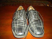 New listing Footjoy My Joy Black Leather Golf Shoes 10.5 N