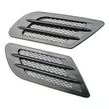 Car Vent Hole Cover Fender Side Air Flow Intake Grille Duct Decoration Sticker B