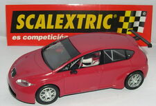 SCALEXTRIC SEAT LEON  RED ONLY IN SETS.MINT UNBOXED
