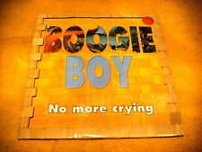 Cardsleeve Single CD BOOGIE BOY No More Crying 2TR 2000 blues pop