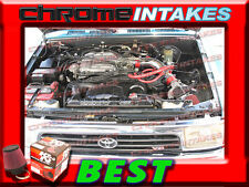 K&N+RED NEW 88-95 TOYOTA PICKUP/4RUNNER 3.0 3.0L V6 COLD AIR INTAKE KIT