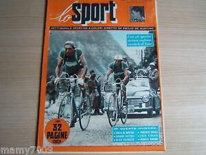 RIVISTA=LO SPORT=ANNO 1952=COPPI TOUR DE FRANCE=