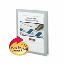 Smead Frame View Poly Two Pocket Folder 8 12 X 11 Oyster 5pack Smd87706