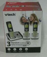 VTECH CS6729-3 3 Handset Cordless Answering Phone System with Caller ID