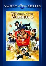 The Return of the Musketeers 1989 (DVD) Michael York, Oliver Reed - New!