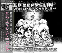 "LED ZEPPELIN / BURN LIKE A CANDLE 3CD June 25, 1972 LA Forum ""Bring It On Home"""