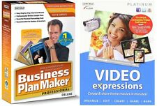 Software Combo -Business Plan Maker Professional Deluxe 9+Video Expression 3