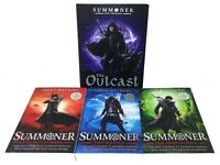Taran Matharu The Summoner 4 Books Collection Set The Battlemage, The Outcast