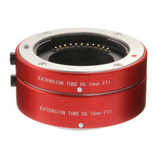 Auto Focus Macro Extension Tube for Panasonic Olympus Micro Four Thirds M4/3 Red