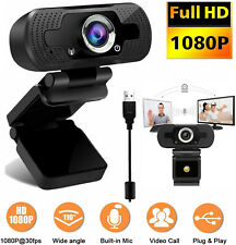 Upgrade Full HD1080P Webcam PC Digital Camera Video Recording+Mic For PC Laptop