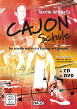 Martin Röttger's Cajon Schule (mit CD + DVD) - Lehrbuch